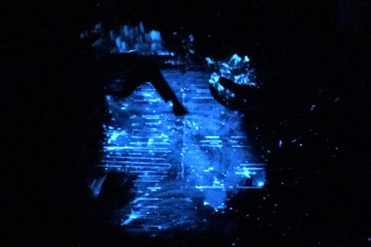 海ほたる発光ショー