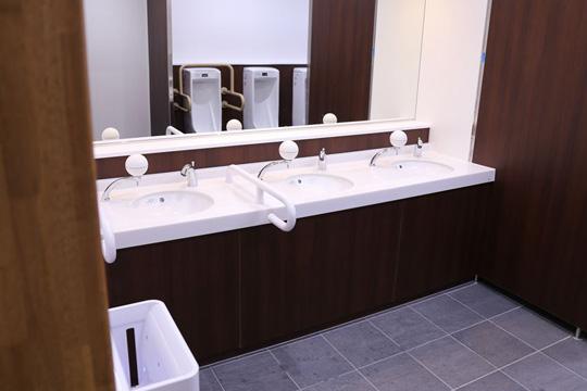 うずの丘 大鳴門橋記念館のトイレ